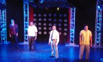 "Caliaf St. Aubyn, Donald King, Kolton Bradley, Charles Browning in ""Steppin' To the Bad Side"".  photo by Joey Haws"