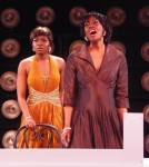 Charnette Batey and Tunisia Renee in DREAMGIRLS at Gallery Players  (photo by Joey Haws)