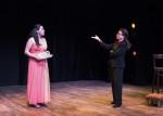 Samantha Guevrekian as Sharon, and Carolyn Mignini as Maria Callas