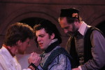David Patrick Ford, Hunter Hoffman and Dominic Cuskern in The Merchant of Venice
