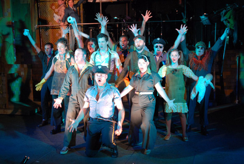 the first musical of its 40th Anniversary season: Urinetown, The Musical