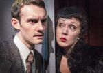 Alister Austin and Amanda Baxter* in The 39 Steps at Gallery Players (photo by Bella Muccari)