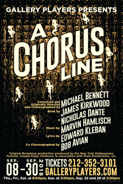 A Chorus Line @ Gallery Players | New York | United States