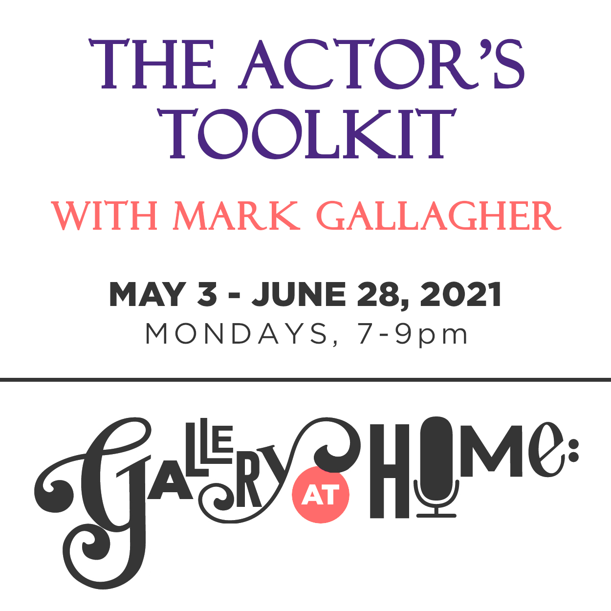 The Actor's Toolkit